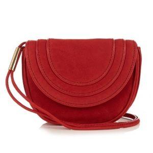 Diane Van Furstenberg / Nubuck Mini Bullseye Bag